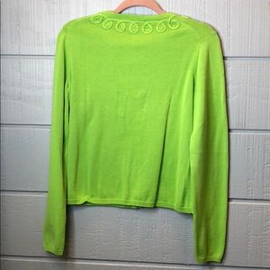 Lilly Pulitzer Sweaters - Lily Pulitzer jubilee green cardigan